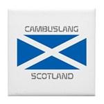 Cambuslang Scotland Tile Coaster