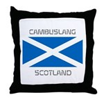 Cambuslang Scotland Throw Pillow