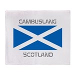 Cambuslang Scotland Throw Blanket