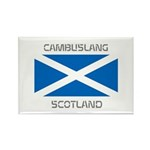 Cambuslang Scotland Rectangle Magnet (10 pack)