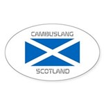 Cambuslang Scotland Sticker (Oval 10 pk)
