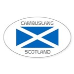 Cambuslang Scotland Sticker (Oval 50 pk)