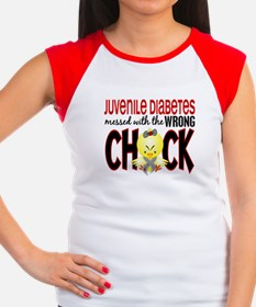 Juvenile Diabetes Messed With Wrong Chick Women's
