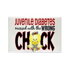 Juvenile Diabetes Messed With Wrong Chick Rectangl
