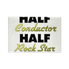 Half Conductor Half Rock Star Magnets