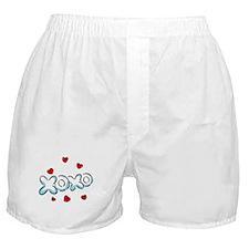 Hugs & Kisses XOXO Boxer Shorts