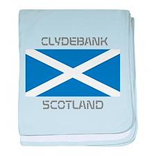 Clydebank Scotland baby blanket