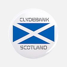 """Clydebank Scotland 3.5"""" Button"""