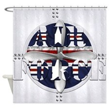 Harvest Moons Air Force Shower Curtain