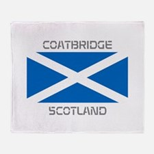 Coatbridge Scotland Throw Blanket