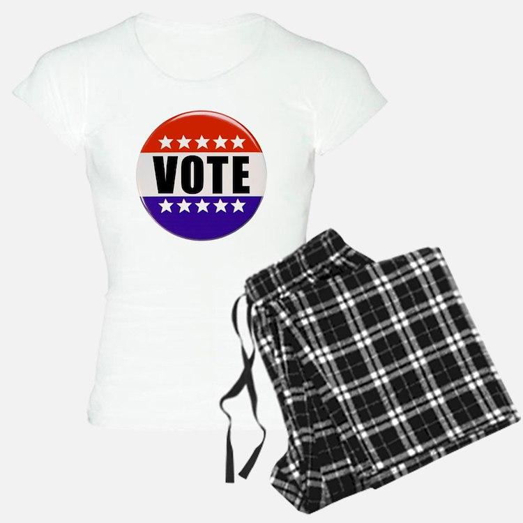 Vote Button Pajamas