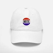 Vote Button Baseball Baseball Baseball Cap