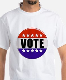 Vote Button T-Shirt