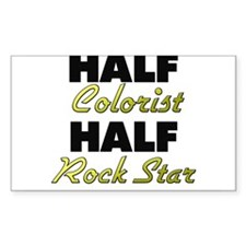 Half Colorist Half Rock Star Decal