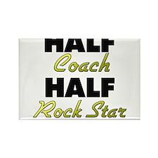 Half Coach Half Rock Star Magnets