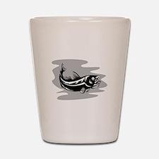 Atlantic Codfish Retro Shot Glass