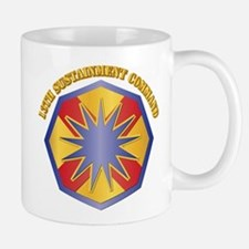 SSI - 13th Sustainment Command with Text Mug