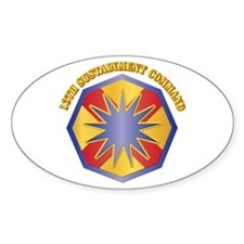 SSI - 13th Sustainment Command with Text Decal