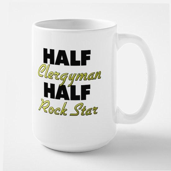 Half Clergyman Half Rock Star Mugs