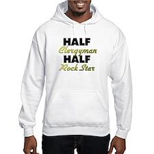 Half Clergyman Half Rock Star Hoodie