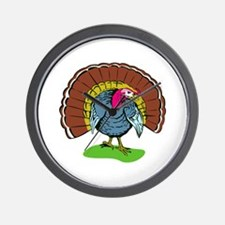 Wild Turkey Retro Wall Clock