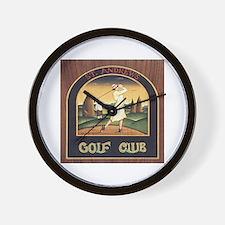 ST. ANDREW'S GOLF CLUB 1 Wall Clock