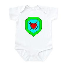 Zagorz Crest Infant Bodysuit