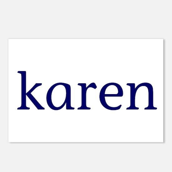 Karen Postcards (Package of 8)