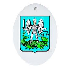 Strzyzow Crest Oval Ornament