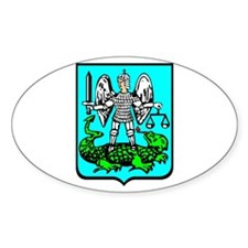 Strzyzow Crest Oval Decal