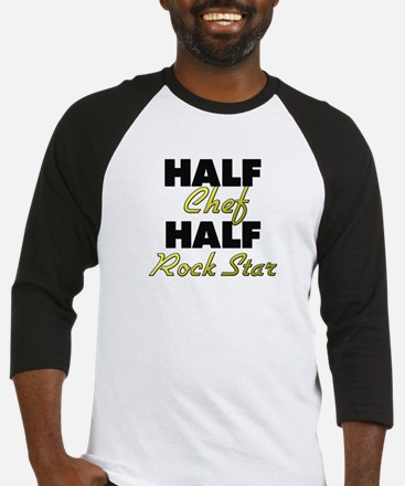 Half Chef Half Rock Star Baseball Jersey