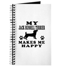 My Jack Russell Terrier makes me happy Journal