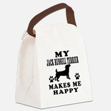 My Jack Russell Terrier makes me happy Canvas Lunc