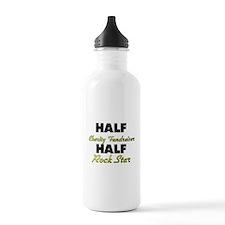 Half Charity Fundraiser Half Rock Star Water Bottl