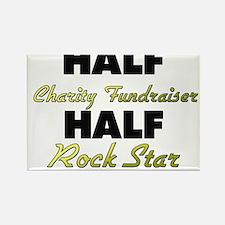 Half Charity Fundraiser Half Rock Star Magnets