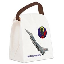 F-16_FILO_PANTHER_SQUADRON.png Canvas Lunch Bag