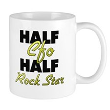 Half Cfo Half Rock Star Mugs