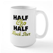 Half Cfo Half Rock Star Mugs