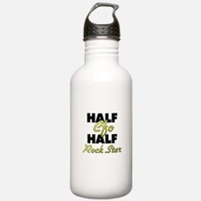 Half Cfo Half Rock Star Water Bottle