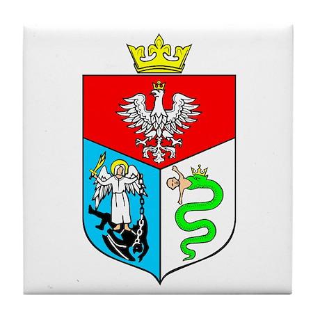 Sanok Crest Tile Coaster