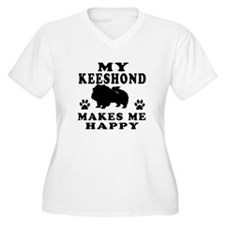 My Keeshond makes me happy T-Shirt