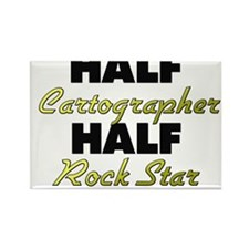 Half Cartographer Half Rock Star Magnets