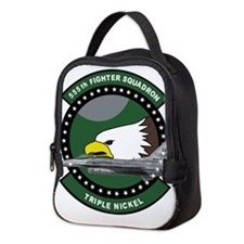 555th_fs_f16_f-16_falcon.png Neoprene Lunch Bag