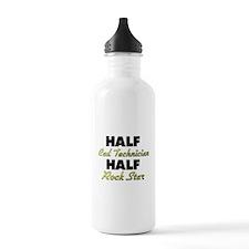 Half Cad Technician Half Rock Star Water Bottle