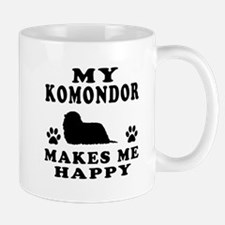 My Komondor makes me happy Mug