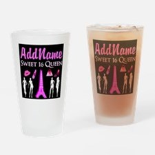 PARIS SWEET 16 Drinking Glass