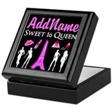 Sweet 16 Square Keepsake Boxes