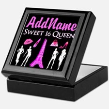PARIS SWEET 16 Keepsake Box