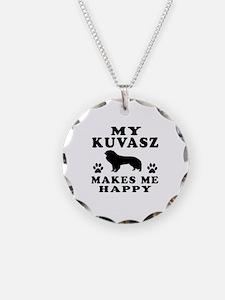 My Kuvasz makes me happy Necklace