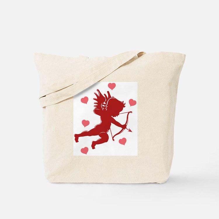 Valentine's Day Cupid Tote Bag
